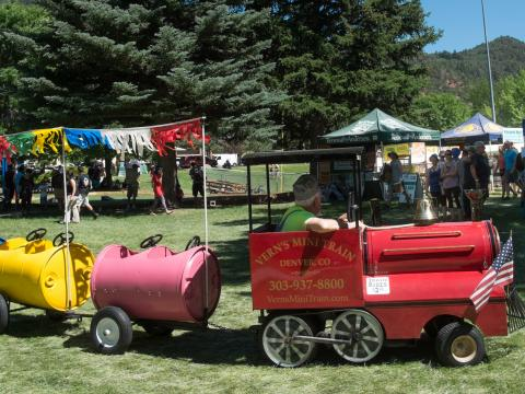Festivities at Strawberry Days in Glenwood Springs
